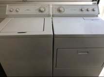 Washer and dryer set in Oceanside, California