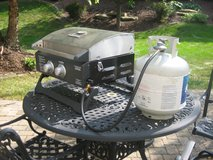BRINKMANN Portable 2 Burner Gas Grill - GREAT FOR TAILGATING! in Naperville, Illinois