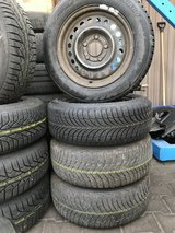 BMW 3 series E36 winter tires 15 inch very good condition in Hohenfels, Germany
