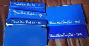 Five United States proof sets in Joliet, Illinois