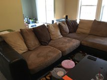 Brown sectional couch in Fort Leonard Wood, Missouri