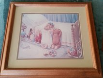 H. Muradian Art Print Framed in Yucca Valley, California