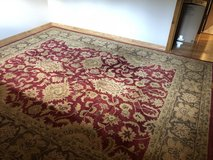 HANDTUFTED WOOL PILE RUG/POTTERY BARN in Glendale Heights, Illinois