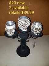 Skull candle holder speak no evil See No Evil Hear No Evil in Vacaville, California