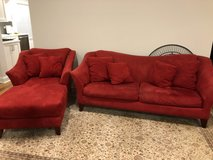 Sofa and chair in Aurora, Illinois