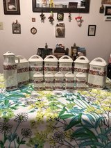 LUSTERWARE CZECH CANISTER SET in Westmont, Illinois