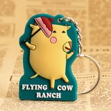 Custom PVC Patches   Flying Cow PVC Keychain   GS-JJ.com ™   40% off in Aurora, Illinois