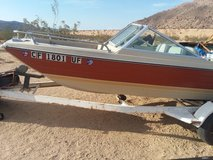 Fishing boat in Yucca Valley, California
