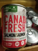 Canada Fresh Salmon Canned Dog Food in Vacaville, California