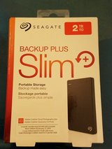 Seagate 2TB Backup Plus Slim in Beaufort, South Carolina