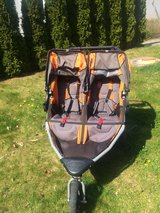 Double Bob running stroller in Camp Pendleton, California