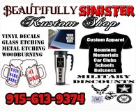 Custom t shirts, mugs, cups, vinyls, and much more! in El Paso, Texas
