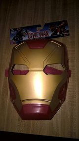 Halloweens Coming LITTLE KIDS IRONMAN MASK in Quantico, Virginia