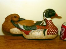 Vintage Burwood Duck Decoys Wall Decor in Chicago, Illinois