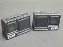 Kraco FX95 Portable Stereo Box Speakers in Glendale Heights, Illinois