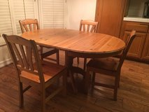 Table W/ 4 Chairs in Camp Pendleton, California