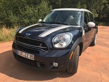 2015, 4 door, AWD, Mini Cooper Countryman S series (US SPECS) on the lemon lot at Ramstein in Spangdahlem, Germany