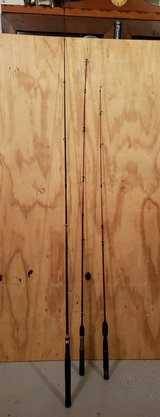 3 fishing rods in Fort Leonard Wood, Missouri