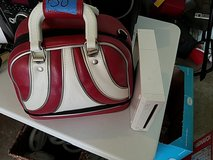 Wii game system & carry case in Bartlett, Illinois