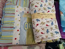 dr Seuss crib blanket & 2 fitted sheets in Bartlett, Illinois