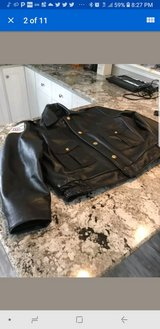 chicago police leather jacket size 50 in Bartlett, Illinois