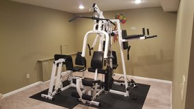 Body Solid home gym with leg press in Joliet, Illinois