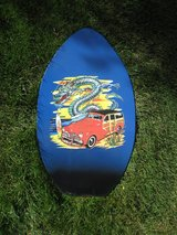 VINTAGE WOOD SURF BOOGIE BODY SKIM BOARD Surf Wall Art in Westmont, Illinois
