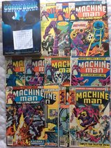 Comics: MACHINE MAN in Warner Robins, Georgia