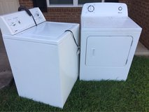 Free Washer and Dryer....Have to pick up in Byron, Georgia