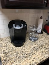 keurig coffee maker and rack in Clarksville, Tennessee