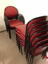 RED CHAIRS in Camp Pendleton, California