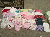 Baby Girl Clothes Bath with shower hose and Shoes in Clarksville, Tennessee