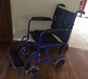 Adult Transport Chair - collapsible in Batavia, Illinois
