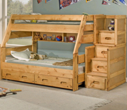 Twin over full bunk bed in Fort Lewis, Washington