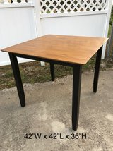 Table (solid wood Bistro Table) in Valdosta, Georgia
