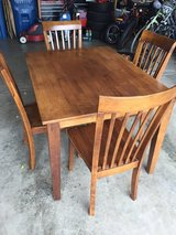 Kitchen Table and 4 Chairs Set in Oswego, Illinois