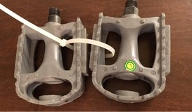 Gray Bike Pedals in Joliet, Illinois