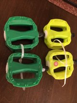 Green Bike Pedals in Aurora, Illinois
