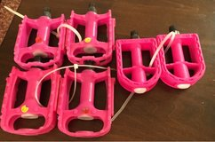 Pink Bike Pedals in Joliet, Illinois