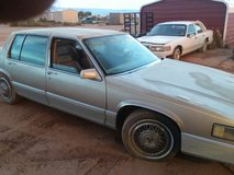 1989 Cadillac deville as is in Alamogordo, New Mexico
