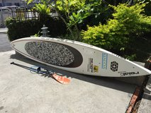 Carbon Fiber Race Paddle Board in Okinawa, Japan