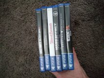 6 ps4 games and ps4 controller in Riverside, California