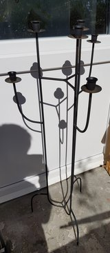iron Candle stand in Ramstein, Germany