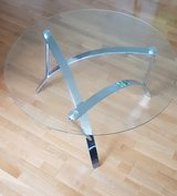 Glass table in Hohenfels, Germany