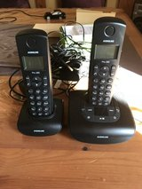 Cordless Hometelephone with 2 stations and answering machine in Ramstein, Germany