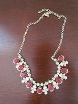 Burgundy & Pink Necklace in Bartlett, Illinois