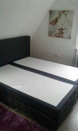 King size bed (boxspring bed) in Stuttgart, GE