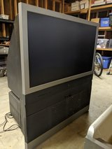 40in HD tv with stand in Warner Robins, Georgia