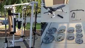 gym smith weights workout machine in Temecula, California