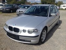 2001 BMW 316 TI COMPACT , MANUAL , 6 MONTHS WARRANTY !!! in Ramstein, Germany